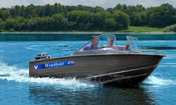 Катер Wyatboat-490