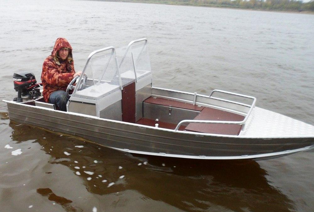 новая моторная лодка wyatboat