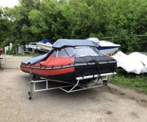 Лодка – Ермак 450